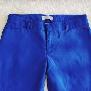GAP Pants - Gap Slim Cropped Stretch Royal Blue Pants